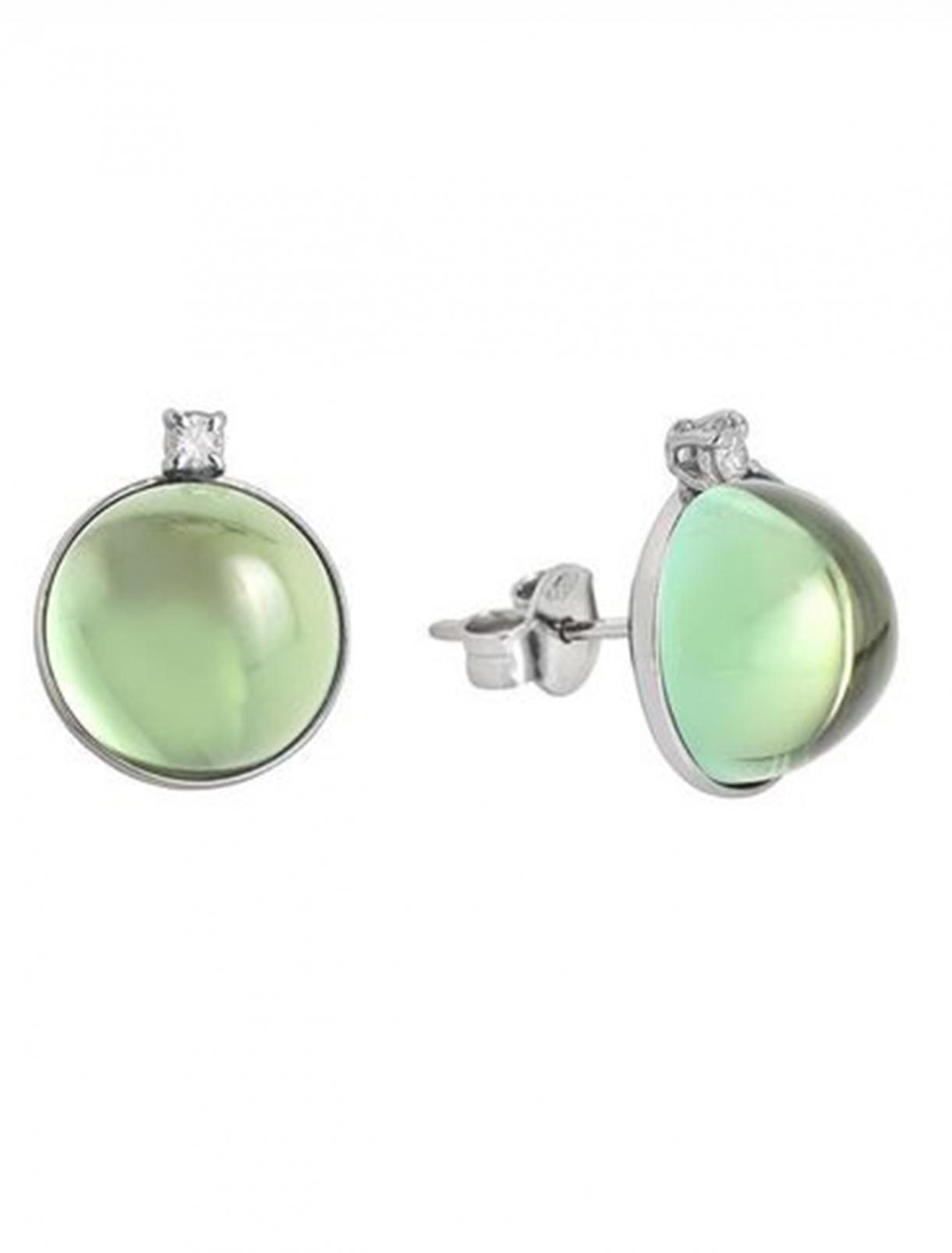 Earrings Gemme Prasiolite WG Dario&Peter  –  Общий вид