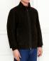 Куртка из кожи на молнии Gimo'S  –  Модель Верх-Низ