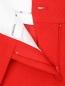Укороченные брюки с боковыми карманами из льна Ermanno Scervino  –  Деталь1