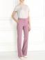 Прямые брюки из смешанной шерсти Alberta Ferretti  –  Модель Общий вид