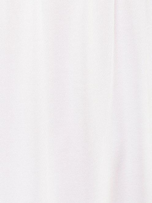 Пижама трикотажная с кружевным декором La Perla - Деталь