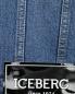 Куртка из денима с потертостями ICEBERG  –  Деталь