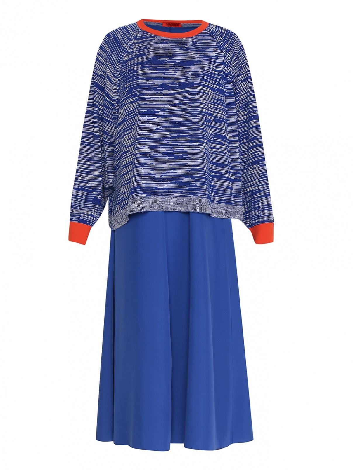 Платье в комплекте с джемпером Max&Co  –  Общий вид