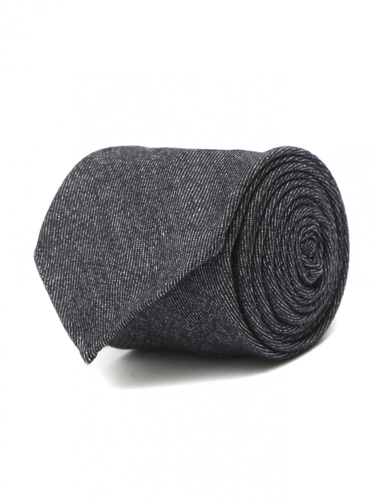 Галстук из хлопка и шерсти LARDINI  –  Общий вид