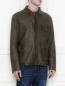 Куртка из кожи на пуговицах Etro  –  МодельВерхНиз