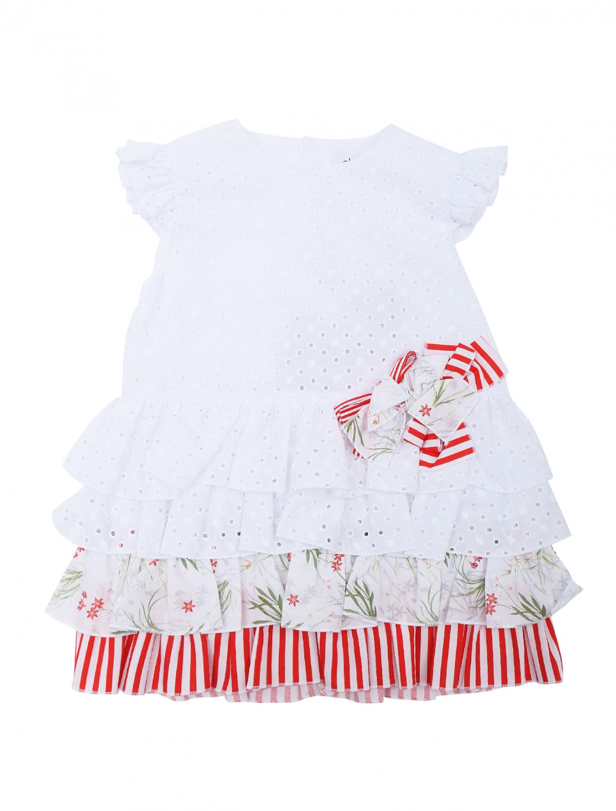Платье хлопковое с оборками Aletta  –  Общий вид