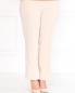 Прямые брюки на резинке с боковыми карманами Marina Rinaldi  –  Модель Верх-Низ
