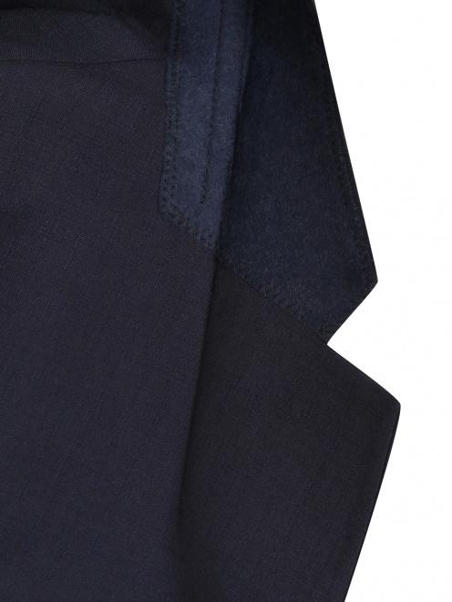 Пиджак из шерсти - Деталь1