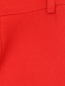 Укороченные брюки с боковыми карманами из льна Ermanno Scervino  –  Деталь