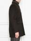 Пальто двубортное из шерсти Moorer  –  МодельВерхНиз2