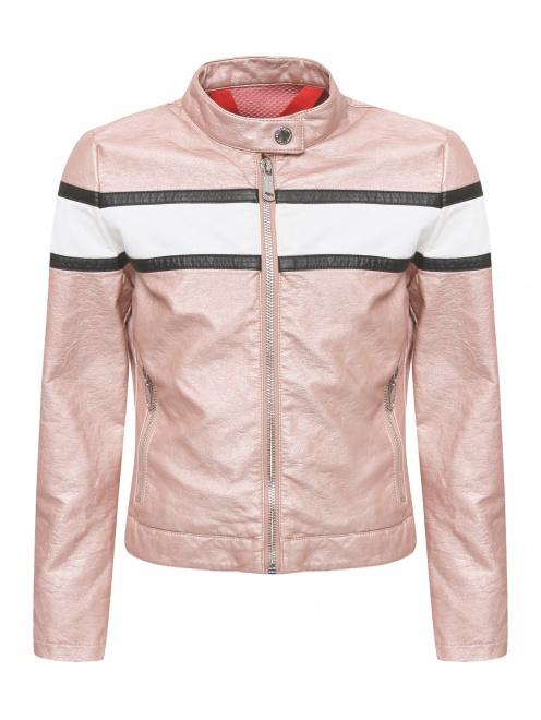 Куртка из экокожи в байкерском стиле Freedomday - Общий вид