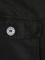 Куртка на молнии с накладными карманами Stone Island  –  Деталь
