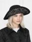 Шляпа шерстяная с вышивкой Etro  –  МодельОбщийВид