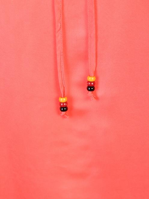 Блуза из вискозы с воланам DEHA - Деталь