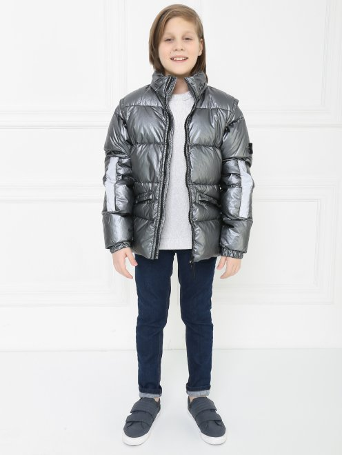 Куртка  на молнии - Общий вид