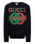 Свитшот хлопковый с принтом Gucci  –  Общий вид