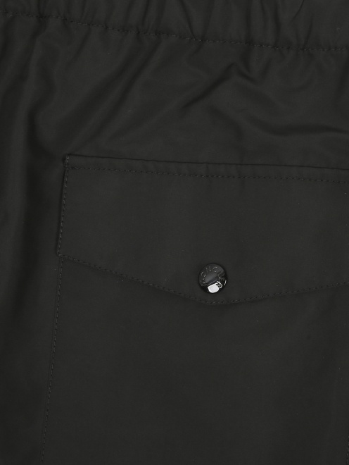 Брюки прямого кроя Moncler - Деталь