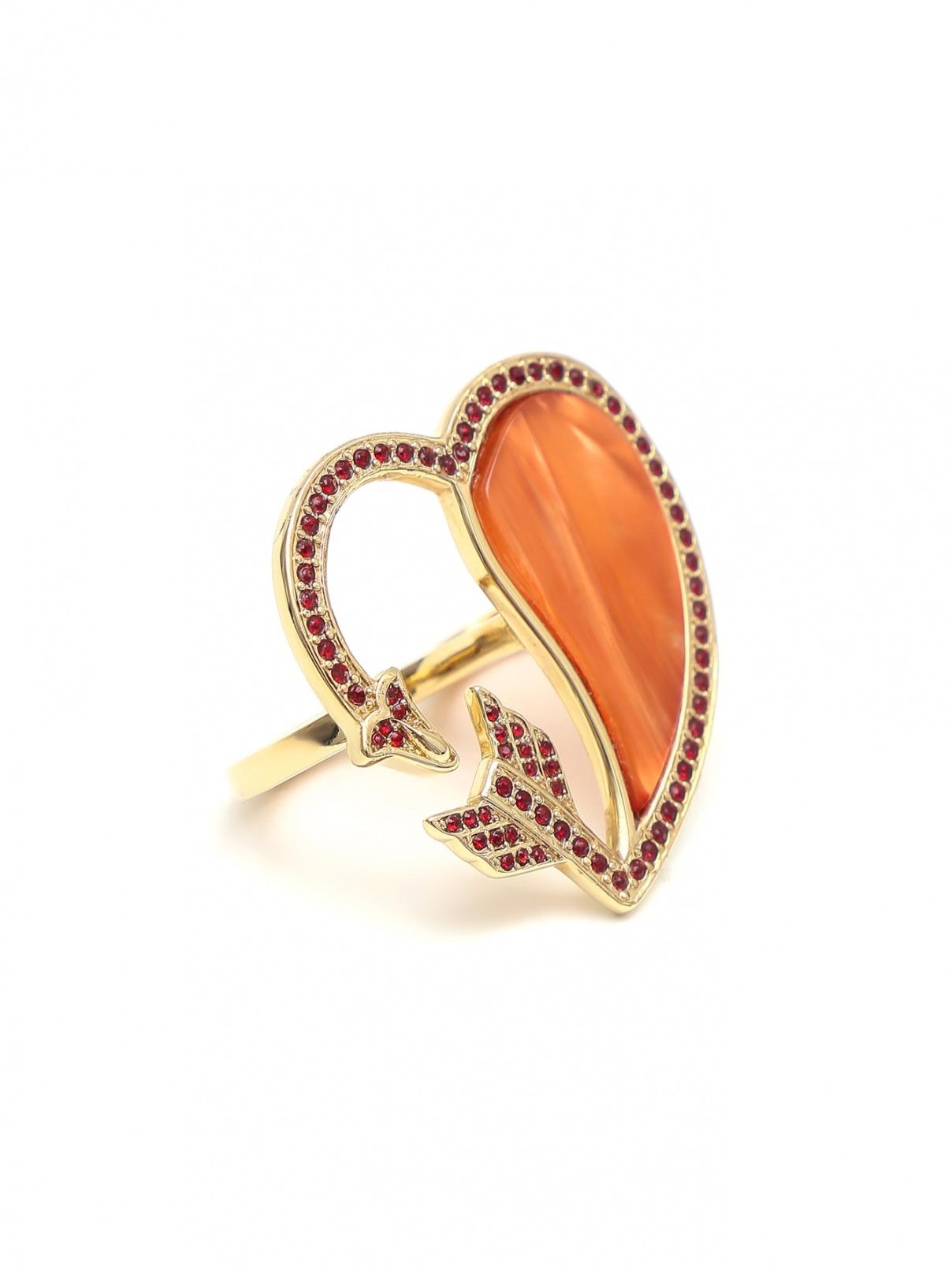 Кольцо в виде сердца Etro  –  Общий вид