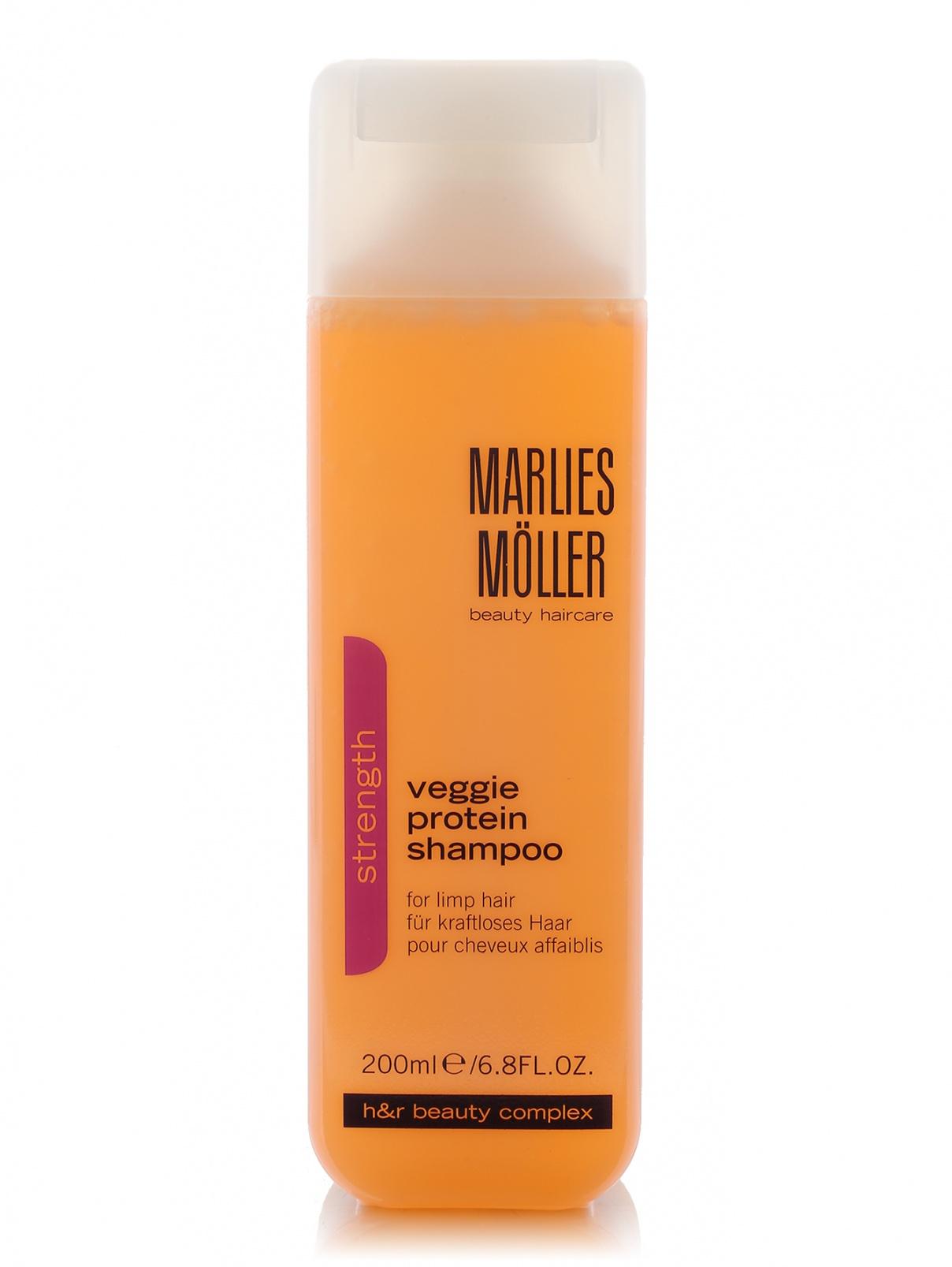 Шампунь для ослабленных волос - Veggie protein shampoo, 200ml Marlies Moller  –  Общий вид