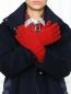 Перчатки из кашемира мелкой вязки Inverni  –  МодельОбщийВид
