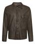 Куртка из кожи на пуговицах Etro  –  Общий вид