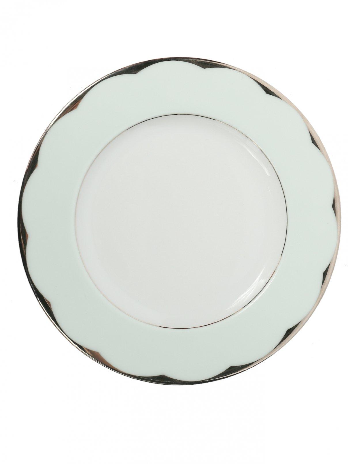 Тарелка хлебная из фарфора с окантовкой Haviland  –  Общий вид