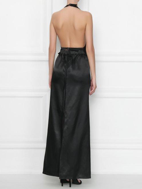 Платье-макси из вискозы MM6 - МодельВерхНиз1
