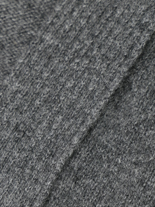 Кардиган из шерсти и кашемира с поясом Alberta Ferretti - Деталь