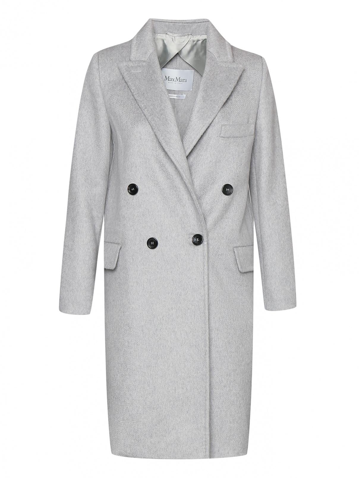 Пальто из кашемира двубортное Max Mara  –  Общий вид