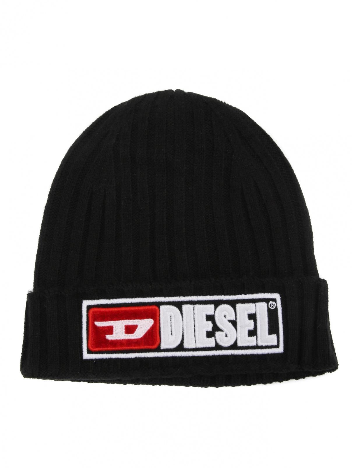 Шапка-бини с нашивкой Diesel  –  Общий вид