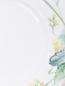 Тарелка обеденная из фарфора с растительным узором Meissen  –  Деталь