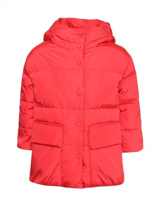 Куртка стеганая с капюшоном  - Общий вид