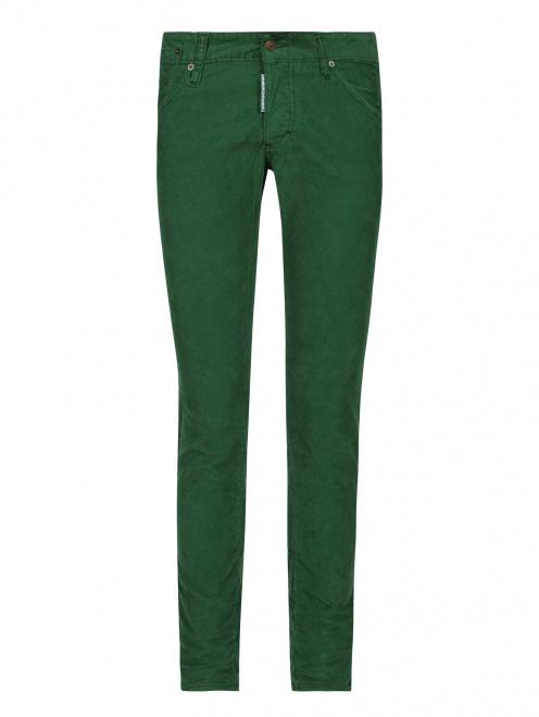Вельветовые брюки узкого кроя - Общий вид