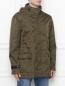 Куртка с капюшоном Ermanno Scervino  –  МодельВерхНиз
