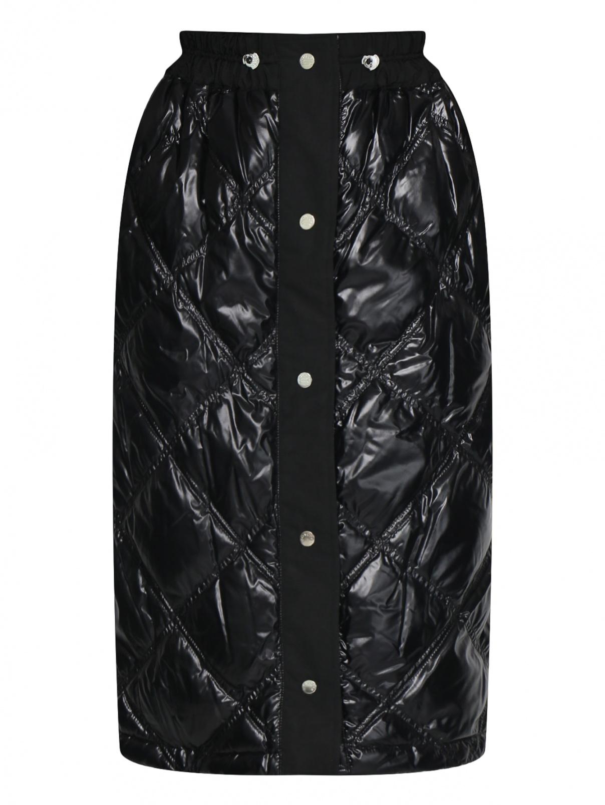 Стеганая юбка на кнопках Moncler  –  Общий вид