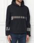 Куртка на молнии с капюшоном Moncler  –  МодельВерхНиз