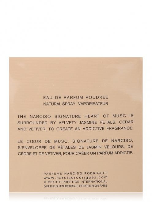 Пудровая парфюмерная вода 90 мл Narciso Narciso Rodriguez - Обтравка2