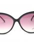 Очки солнцезащитные в пластиковой оправе Max Mara  –  Деталь