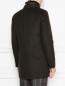 Пальто двубортное из шерсти Moorer  –  МодельВерхНиз1