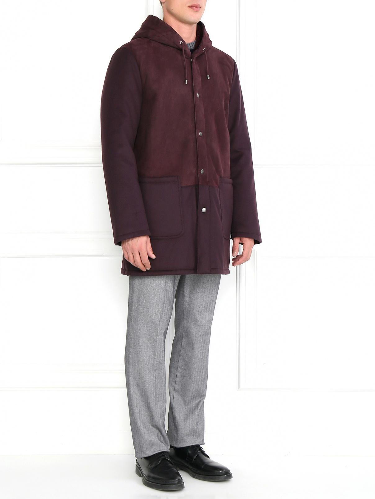 Куртка удлиненная с капюшоном Etro  –  Модель Общий вид