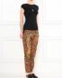 Свободные брюки из шелка с узором Barbara Bui  –  Модель Общий вид