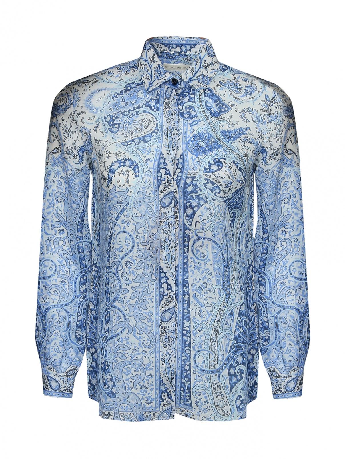 Рубашка с узором пейсли Etro  –  Общий вид