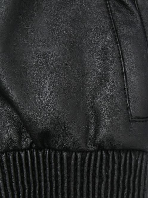 Куртка байкерская из экокожи Freedomday - Деталь1