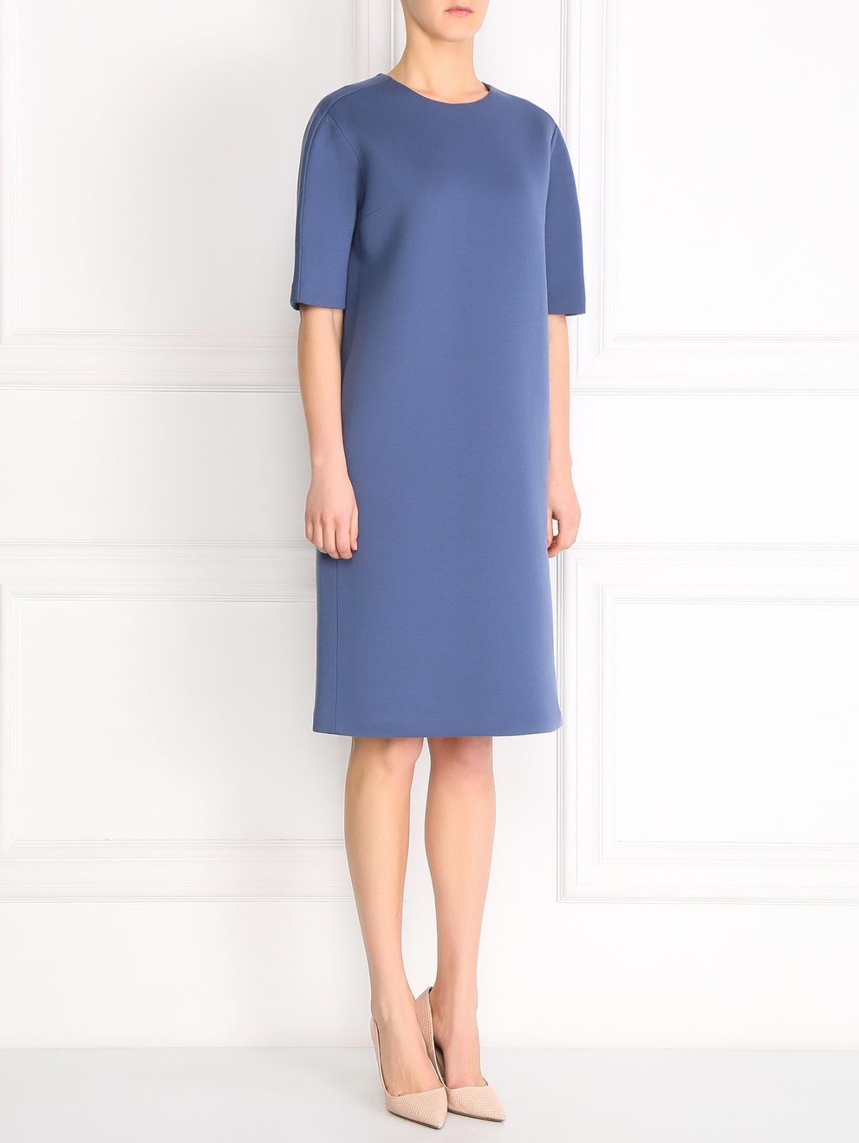 Платье из хлопка свободного фасона Jil Sander  –  Модель Общий вид