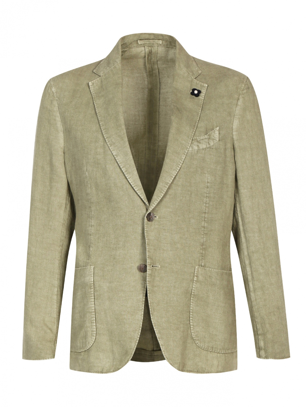 Пиджак однобортный прямого кроя LARDINI  –  Общий вид