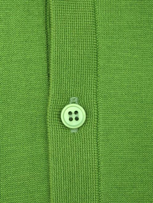 Поло из хлопка Kangra Cashmere - Деталь