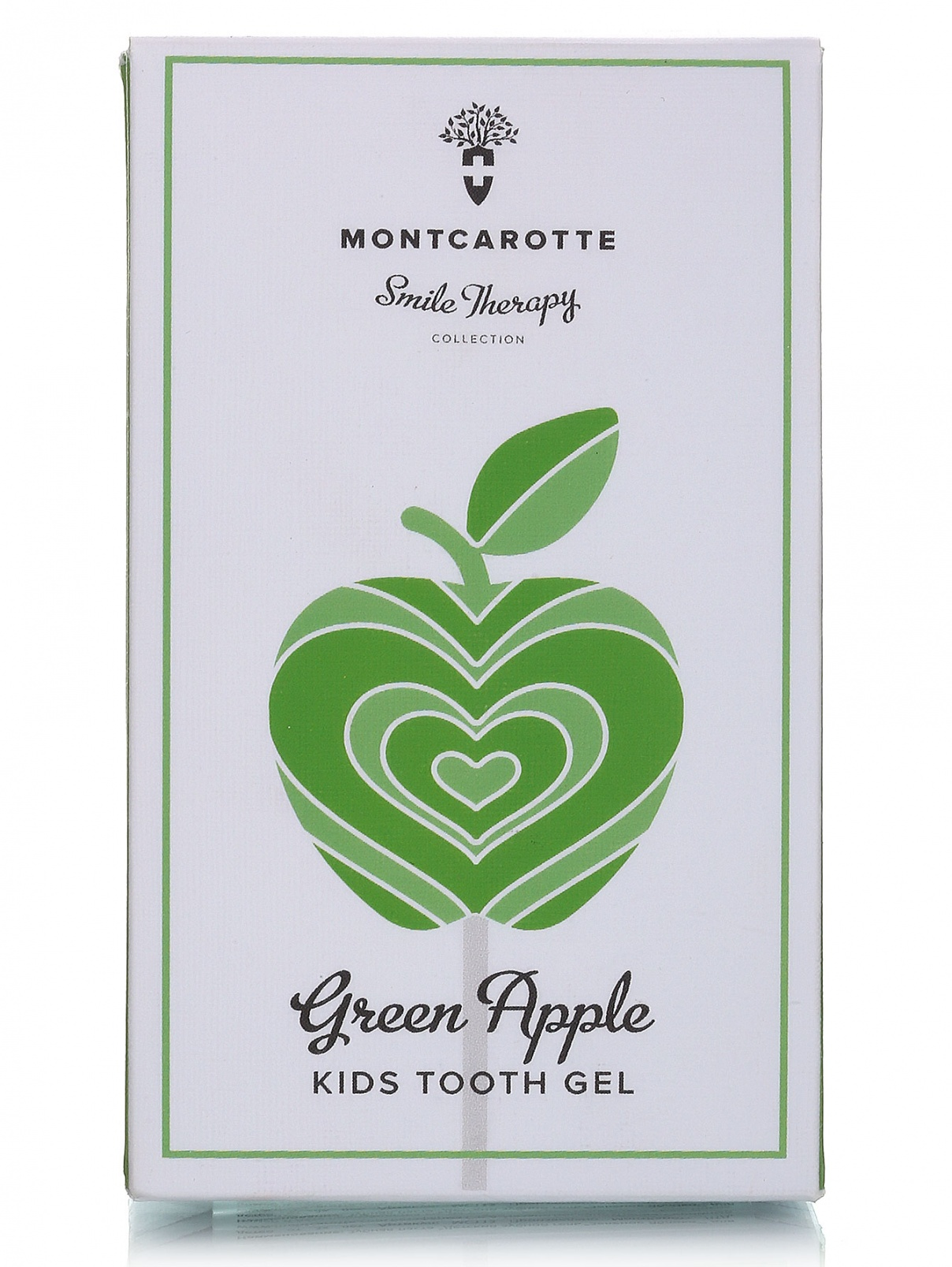 """Детская зубная паста """"Зеленое Яблоко"""" - Face Care, 30ml Montcarotte  –  Модель Общий вид"""