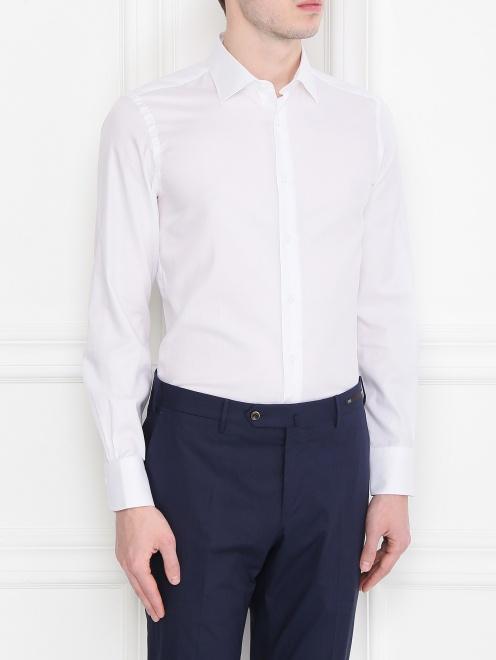 Рубашка из хлопка Carrel - МодельВерхНиз