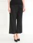 Укороченные широкие брюки из хлопка Barbara Bui  –  Модель Верх-Низ