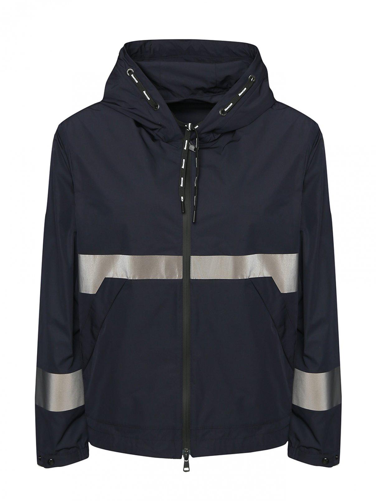 Куртка на молнии с капюшоном Moncler  –  Общий вид